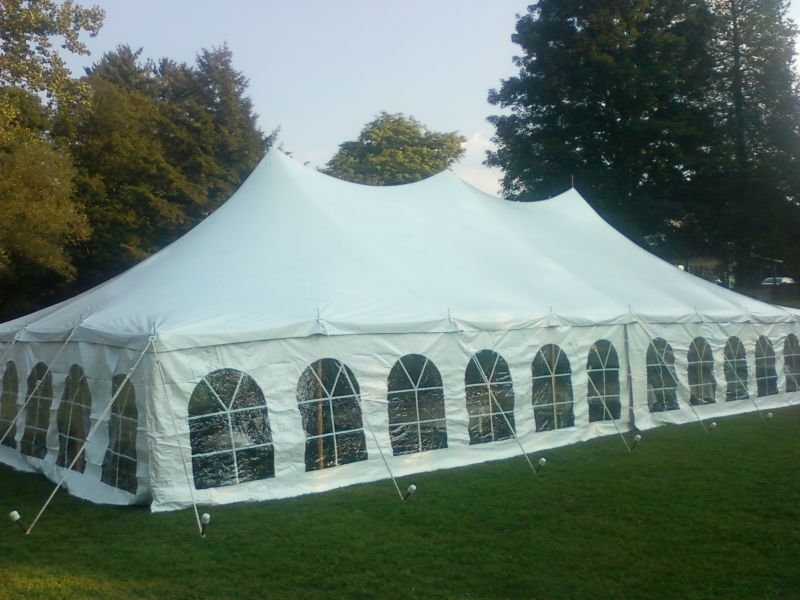 Frame Tents – Cline\'s Tent Rental Inc